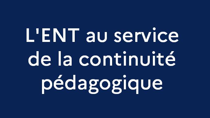 ENT Continuite pedagogique.png